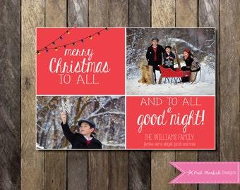 Christmas Card, Holiday Card, Fun Christmas Card, Winter Christmas Card, Xmas Card, Photo Christmas Card, Holiday Christmas Card, Xmas