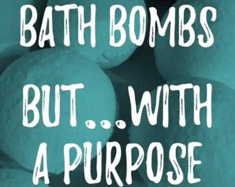 Stuffy Nose Bath Bomb (Green Monster)