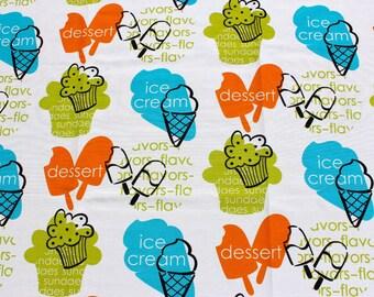 Fabric waterproof ice cream 140cm wide