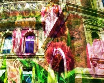 London Dreams: Royal Albert Hall - Giclée print