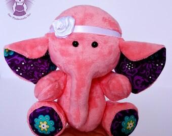 Soft toy elephant/softie/plush toy/newborn soft toy