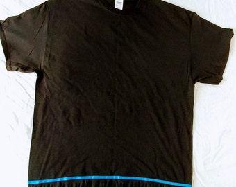 Hebrew Israelite T-Shirt w/ Fringes (Black)