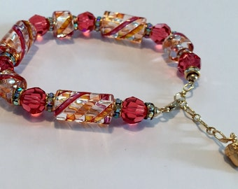 Enhance Creativity with this Powerful, Sacred Energy Infused Swarovski Crystal Bracelet by Crystal Vibrations Jewelry