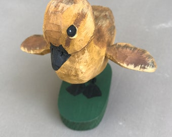 Vintage wood duck