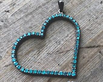 Crystal Heart Pendant - DIY Jewelry