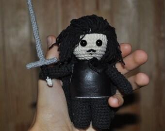 Jon Snow / game of thrones / amigurumi Jon Snow