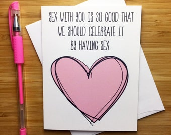 Sexy love card etsy funny sex card funny love card sexy card naughty card anniversary card m4hsunfo