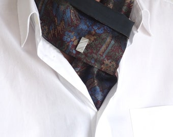 Revisited tie reversible silk knot cufflinks Jack.B