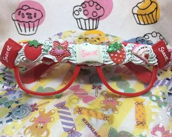 Erdbeere Decoden Gläser
