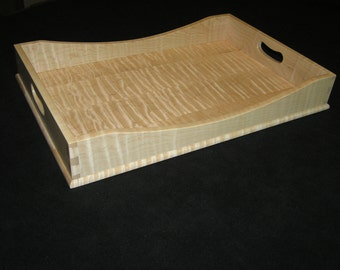 12 x 18 Tiger Maple Serving Tray