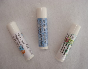 I Know the Scriptures are True for 2016 LDS Primary Chapstick Labels Instant Download