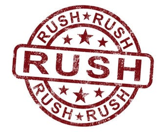 Rush Order, Express Delivery