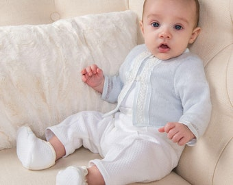 Jackson Christening Outfit, Boys Christening & Baptism Outfits, Boys Baby Blessing Outfit
