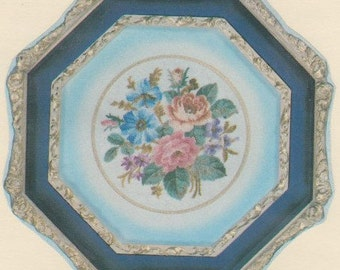 Helen Burgess Counted Thread Design. Garden Flowers Pattern. HB4053.
