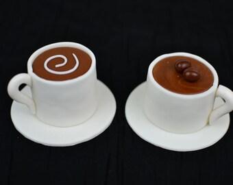 Coffee Mug cake topper