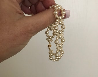 Bridal Collection XV: Cream Pearl Bracelet
