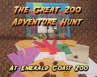 Scavenger Hunt - Emerald Coast Zoo  Adventure Hunt - The Great Zoo Adventure Hunt