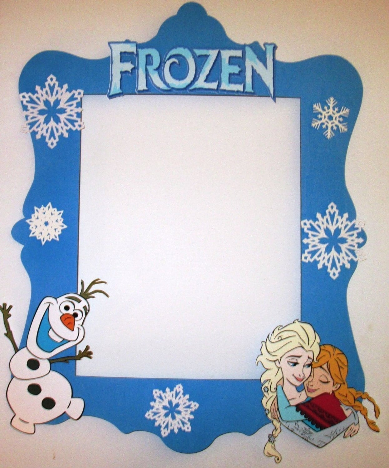 Frozen Photo Booth Frame great as a photo booth prop or a