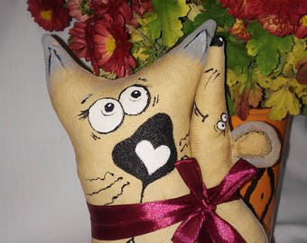 a soft toy, an interior toy, a gift for the new year, a gift for lovers