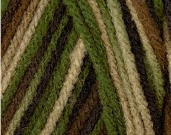 Red Heart Classic Yarn Camouflage
