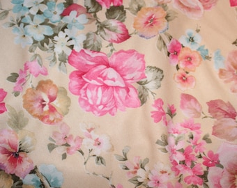 Swimsuit, in-stock fabric, Vintage Rose