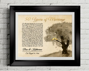 golden wedding anniversary gifts for parents