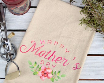 Mothers Day, Mom Gift, Gift for Mom, Mothers Day Gift, Mom Gifts, Gifts for Mom, Flour Sack Towel, Kitchen Towel, Tea Towel, Kitchen Decor