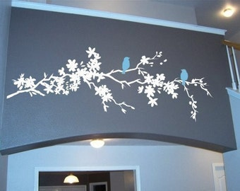 Tree Wall Decal Nature's Longing Branch - Wall Art Stickers Custom Home Decor