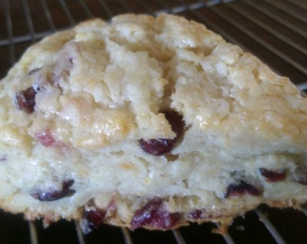 Orange Cranberry Breakfast Scones