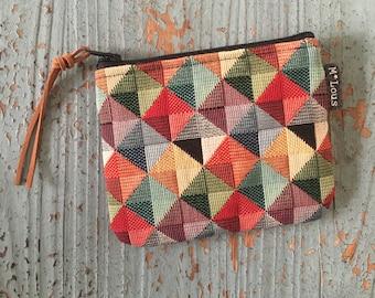 coin purse small zipper pouch coin pouch small wallet vegan boho zipper purse tiny wallet travel pouch retro purse vegan purse byMlous