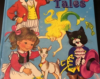 Vintage My Treasury Of Fairy Tales Book