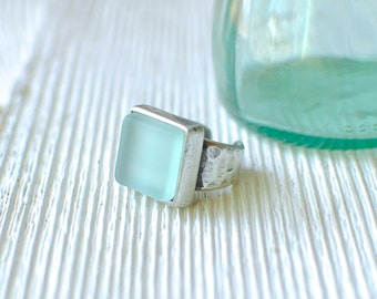 Coke Bottle Adjustable Ring | Recycled Pewter Jewelry