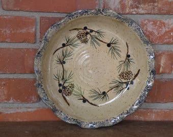 Juniper Deep Dish Pie Plate