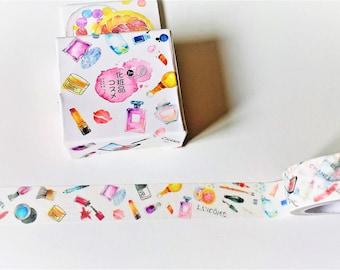 Perfume washi tape, Makeup tape, Washi tape, Masking tape, Washi, Tape, Bullet journal