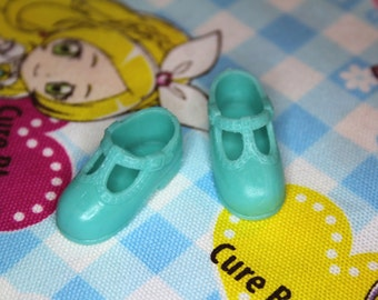 Blythe Light Turquoise T-Strap Mary Jane shoes