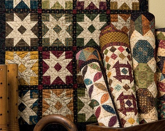 NEW!! Simple Whatnots by Kim Diehl - 18 small quilt projects