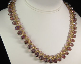Amethyst Sparkler Necklace