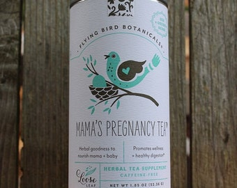 0416 Mama's Pregnancy tea, herbal tea, 100% organic loose leaf herbs