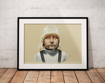 Village of the Damned's Mara print