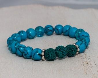 Lava Bead Essential Oil Diffuser Bracelet