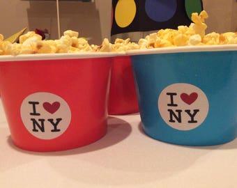 NYC Stickers/I heart NY/love/Tween/Teen/Birthday Party/Theme/Bat Mitzvah/Bar Mitzvah/New York/Decor/Decorations/Big Apple/Stinky Feet Party