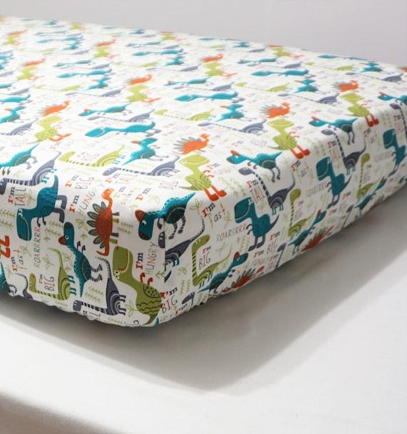 Dinosaur Baby Bedding Boy Crib Sheet Dinosaur Nursery Toddler