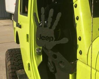 CJ, YJ, TJ or J.K jeep Wave Mirror Brackets