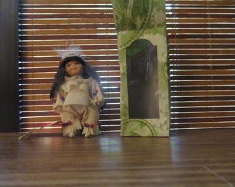 American Native American Miniature Doll