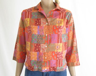 Vintage 50's Cropped Blouse