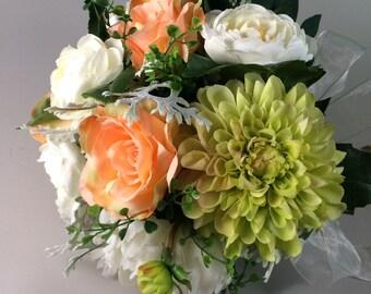 Spring wedding bouquet,  Bridal bouquet, Peony bouquet, Wedding bouquet, Bridal bouquet, Summer bouquet, Coral rose Bouquets, Coral bouquet