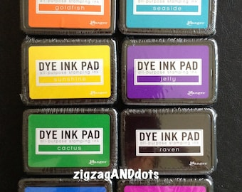 Ranger Dye Ink Pad, All Purpose Stamping Ink, Various Colors, Tim Holtz, Ink for Stamping, Acid Free, Non-Toxic, Your Choice of 1 Ink Pad