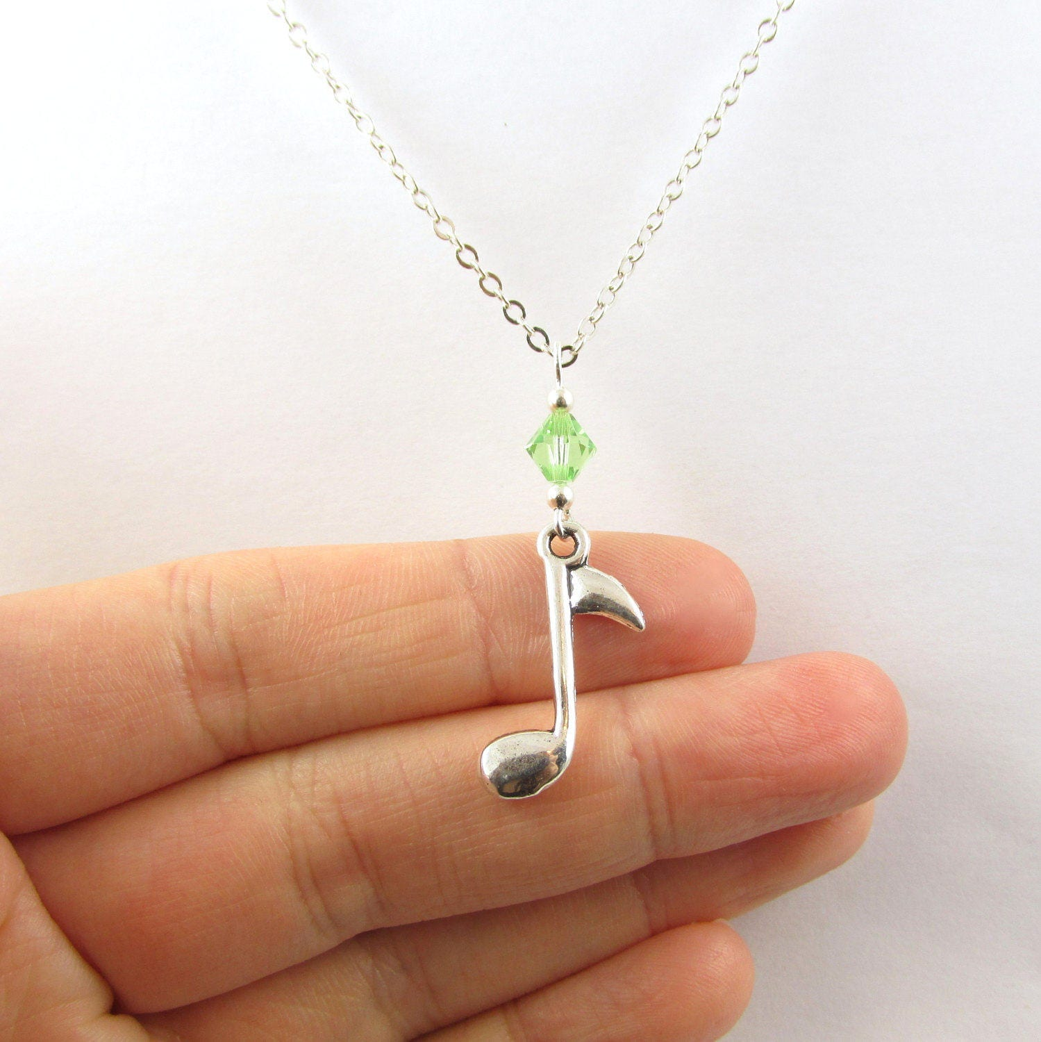 jewellery engraved when tone fail chain uk dp pick words amazon with necklace inch speaks silver pendant guitar co music