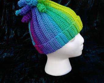 Delaney Hat - Parrot Stripe - Toddler