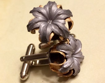 Bullet Cuff Links - .40S&W Federal HST - ONLY for the BOLD!